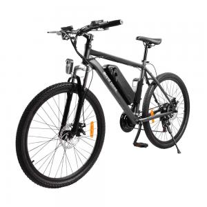 """Электровелосипед HIPER Engine B51, 26"""" колеса, 350 Вт мотор, 375 Втч батарея, амортизатор переднего колеса, графитовый"""