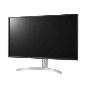 Монитор жидкокристаллический LG Монитор LCD 32'' [16:9] 3840x2160(UHD 4K) VA, nonGLARE, 400cd/m2, H178°/V178°, 3000:1, 1.07B, 4ms, 2xHDMI, DP, USB-Hub, Height adj, Tilt, Speakers, 2Y, Silver