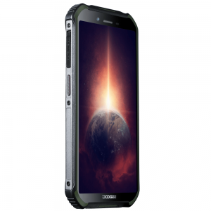 Смартфон Doogee S40 Pro Army Green, 5.45'' 18:9 720x1440, 1.8GHz, 8 Core, 4GB RAM, 64GB, up to 256GB flash, 13Mpix+2Mpix/5Mpix, 2 Sim, 2G, 3G, LTE, BT, Wi-Fi, NFC, GPS, Micro-USB, 4650 мА·ч, Android 10, 238 г, 158,2 ммx79,4 ммx14,1 мм