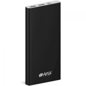 Внешний аккумулятор HIPER MPX10000 Li-Pol 10000mAh 3A+3A+2.4A 2xUSB 1xType-C черный