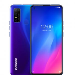 "Смартфон Doogee N30 Dreamy Blue, 16,64 см (6.55"") 19:9 720x1600, 1.8GHz, 8 Core, 4GB RAM, 128GB"