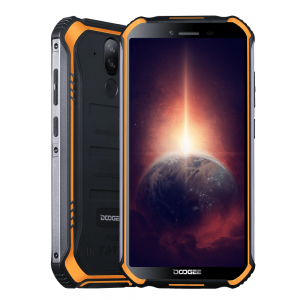 Смартфон Doogee S40 Pro Fire Orange, 5.45'' 18:9 720x1440, 1.8GHz, 8 Core, 4GB RAM, 64GB