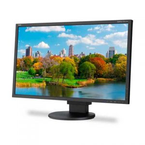 Монитор жидкокристаллический NEC Монитор LCD 22'' [16:10] 1680х1050(WSXGA+) TN, nonGLARE, 220cd/m2, 170°/160°, 1000:1, 16.7M, 5ms, VGA, DVI, DP, USB-Hub, Height adj, Pivot, Tilt, Swivel, Speakers, 3Y, Black