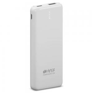 Внешний аккумулятор HIPER PSL8000 Li-Pol 8000 mAh 2.4A 1xUSB 1xType-C белый