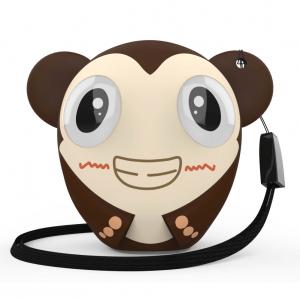 Портативная акустическая система Bluetooth Speaker HIPER ZOO Music Monkey, Обезьяна
