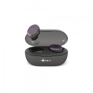Беспроводные наушники HIPER TWS SOUL V2 Bluetooth 5.0 гарнитура Li-Pol 2x43mAh+380mAh, Черный