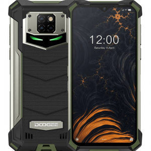 Смартфон Doogee S88 PRO Army Green, 6.3'' 1080x2340, 4x2,0GHz+4x2,1GHz, 8 Core, 6GB RAM, 128GB