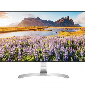 Монитор жидкокристаллический LG Монитор LCD 27'' [16:9] 1920х1080 IPS, nonGLARE, 250cd/m2, H178°/V178°, 1000:1, 16.7M Color, 5ms, VGA, 2xHDMI, Tilt, Speakers, Audio out, 2Y, Silver-White