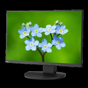 Монитор жидкокристаллический NEC Монитор LCD 22.5'' [16:10] 1920х1200(WUXGA) IPS, nonGLARE, 250cd/m2, H178°/V178°, 1000:1, 16.7M, 5ms, VGA, DVI, HDMI, DP, USB-Hub, Height adj, Speakers, 3Y, Black