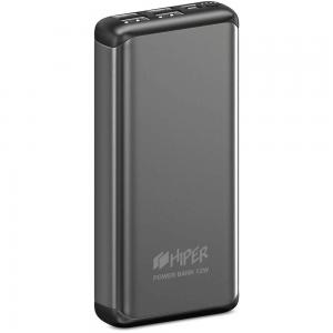 Аккумулятор HIPER Внешний аккумулятор HIPER MS20000 Li-Pol 20000 mAh Aluminum 3A+2.4A 4xUSB 1xType-C серый