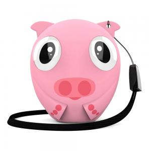 Портативная акустическая система Bluetooth Speaker HIPER ZOO Music Lily, Свинка