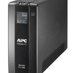 Источник бесперебойного питания APC Источник бесперебойного питания APC Back-UPS Pro, Интерактивная, 1300 ВА / 780 Вт, Tower, IEC, LCD, USB, USB