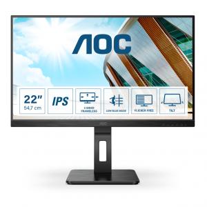 Монитор жидкокристаллический AOC LCD 21.5'' [16:9] 1920х1080(FHD) IPS, nonGLARE