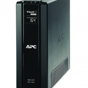 Источник бесперебойного питания APC Back-UPS Pro, Line-Interactive, 1500VA / 865W, Tower, Schuko, LCD, Serial+USB, подкл. доп. батарей