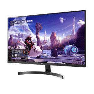 Монитор жидкокристаллический LG Монитор LCD 31.5'' [16:9] 2560х1440(WQHD) IPS, nonGLARE, 350cd/m2, H178°/V178°, 1000:1, 5ms, 2xHDMI, DP, Tilt, 2Y, Black