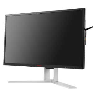 Монитор жидкокристаллический AOC LCD 27'' [16:9] 2560х1440 IPS, nonGLARE, 350cd/m2, H178°/V178°, 50М:1, 4ms, HDMI, DP, USB-Hub, Pivot, Tilt, HAS, Speakers, Audio out, 3Y, Black