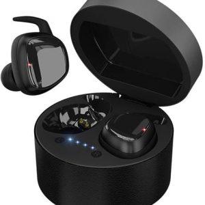 Беспроводные наушники HIPER TWS SKAT Bluetooth 5.0 гарнитура Li-Pol 2x55mAh+300mAh черный
